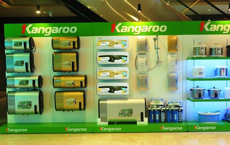Các sản phẩm của Kangaroo được phân phối rộng rãi trên khắp lãnh thổ Viêt Nam