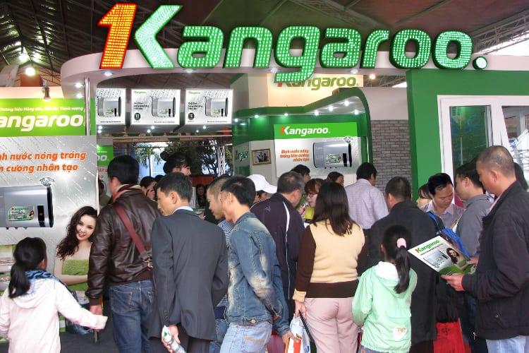 Người tiêu dùng ngày càng thêm tin tưởng sử dụng nhãn hiệu gia dụng Kangaroo